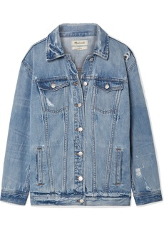 Madewell Oversized Distressed Denim Jacket