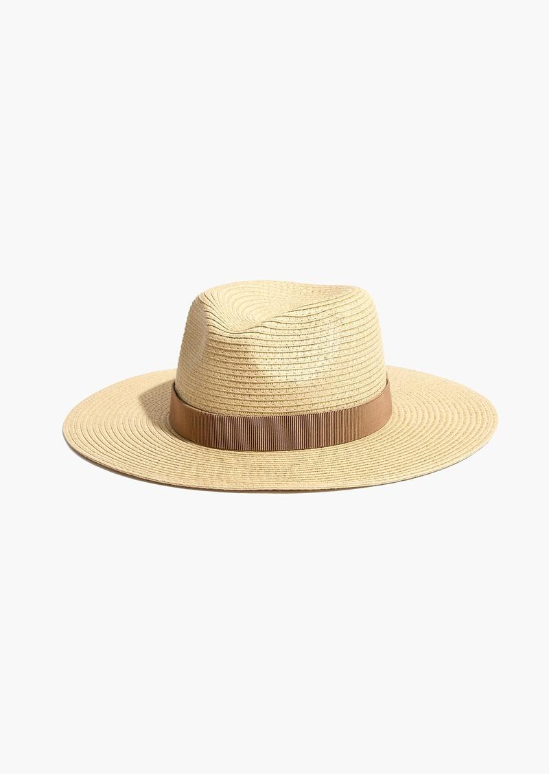Madewell Packable Mesa Straw Hat  9aea09b27307
