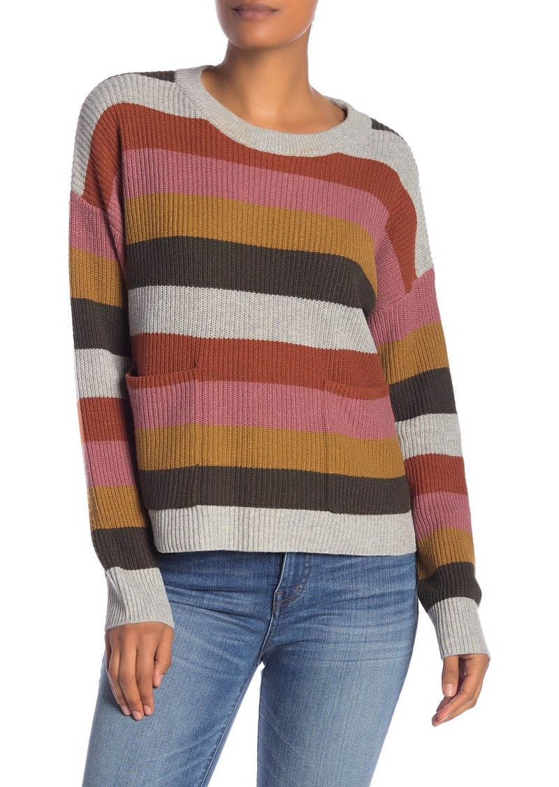 Madewell Patch Pocket Pullover Sweater (Regular & Plus Size)