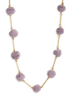 Madewell Pompom Necklace