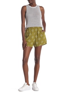 Madewell Printed Pull-On Shorts