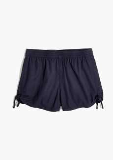 Pull-On Side-Tie Shorts