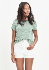 Madewell radio tee in lakeland stripe
