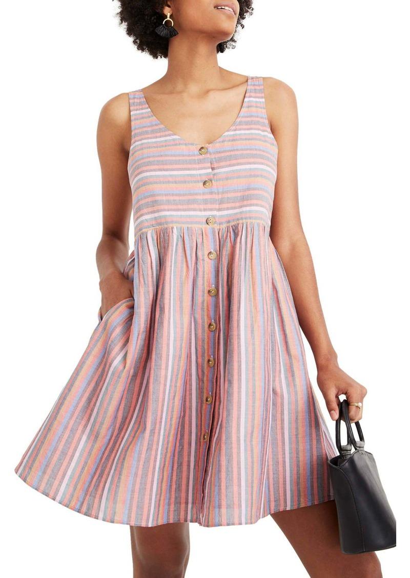 Madewell Rainbow Stripe Tank Dress (Regular & Plus Size)