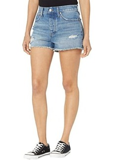 Madewell Relaxed Denim Shorts in Homecrest Wash: Ripped Edition