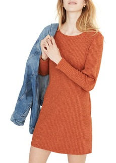 Madewell Ribbed Bubble Sleeve Dress
