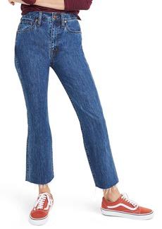 Madewell Rigid Demi Boot Crop Jeans