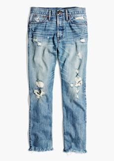 Madewell Rivet & Thread Retro Straight Jeans