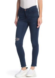 Madewell Roadtripper Distressed Frayed Hem Jeans (Regular & Plus Size)