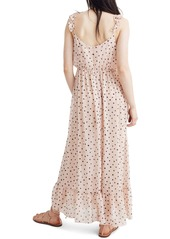 Madewell Ruffle Strap Faux Wrap Dress