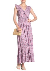 Madewell Ruffled Floral Maxi Dress