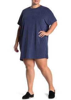 Madewell Sandwashed Jersey T-Shirt Dress (Regular & Plus Size)