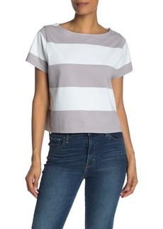 Madewell Setlist Striped Boxy T-Shirt