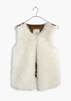 Shearling Vest
