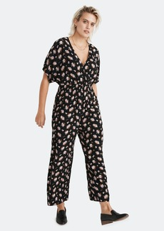 Madewell Short Sleeve Wrap Jumpsuit - S - Also in: XL, M, L, XS