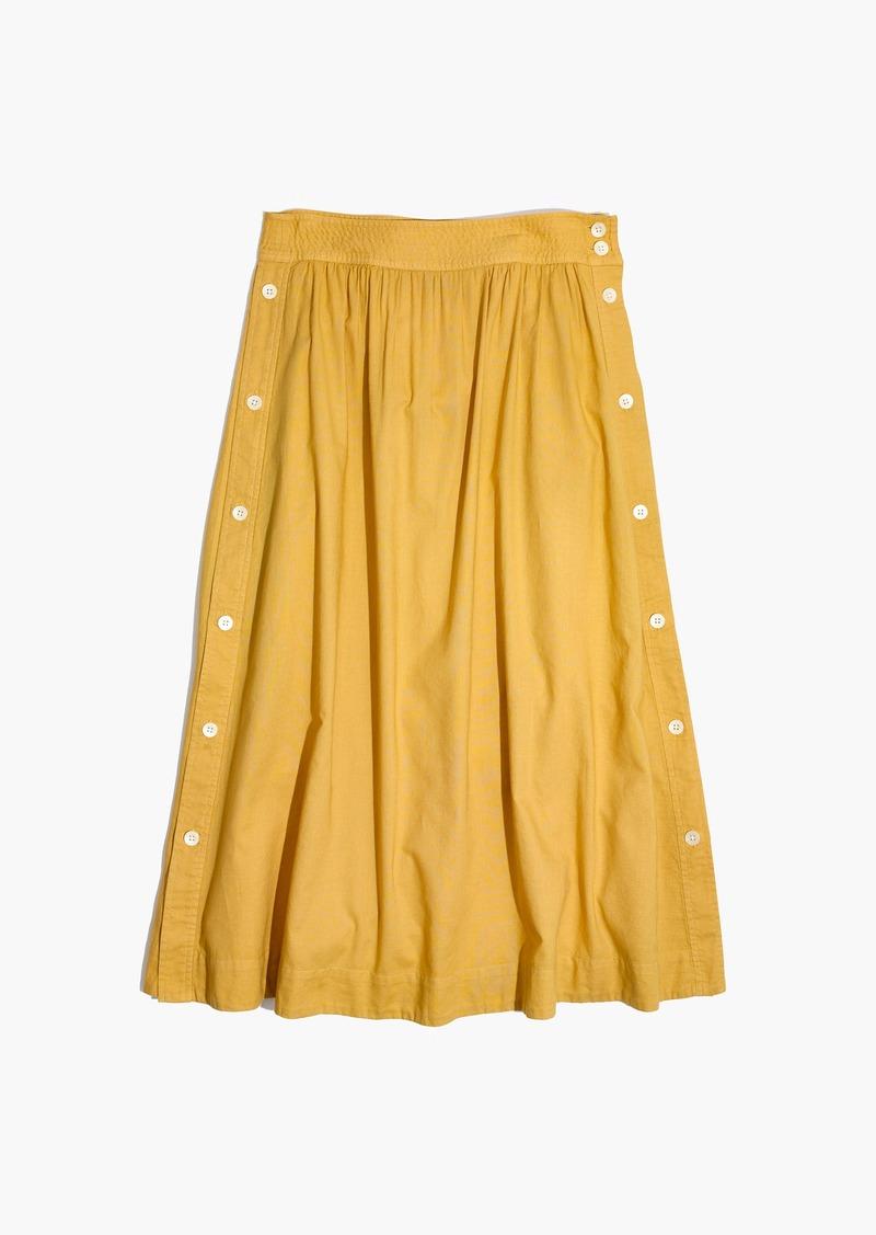 ba620a2d0497 Madewell Side-Button Skirt | Skirts