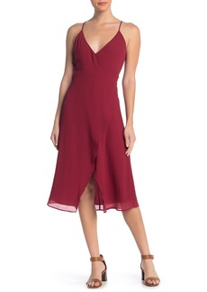 Madewell Side Button Wrap Dress