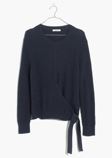 Madewell Side-Tie Pullover Sweater