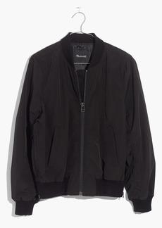 Side-Zip Bomber Jacket