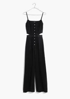 Madewell Silk Cutout Jumpsuit