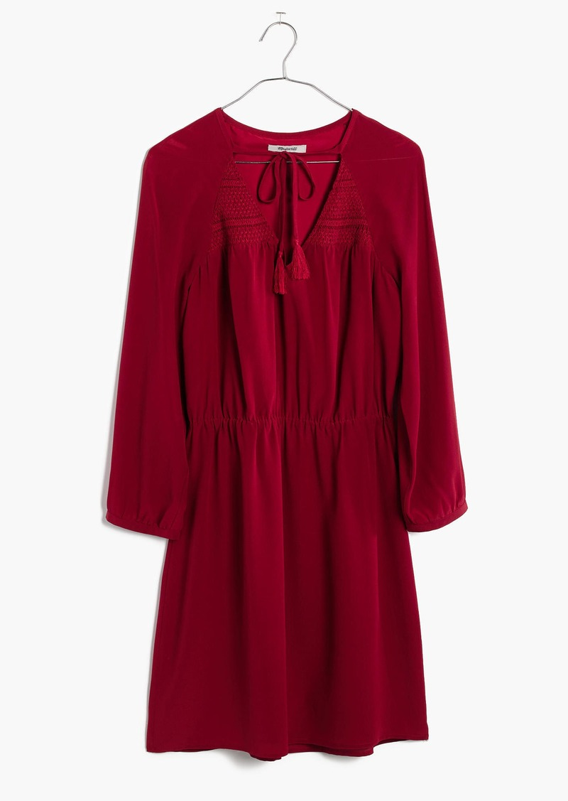 Madewell Silk Woodland Dress