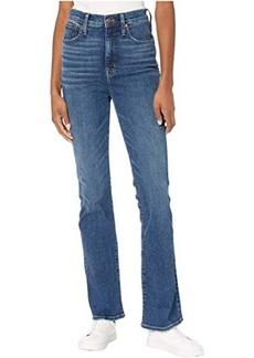 Madewell Skinny Flare Jeans in Dark Indigo