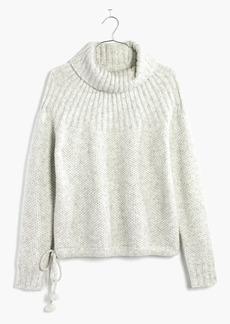 Madewell Snowbound Drawstring Pullover Sweater