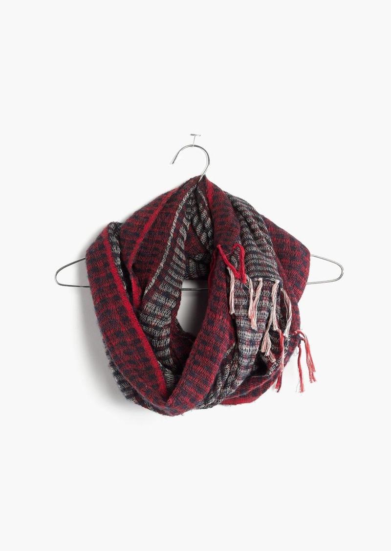 Madewell softstripe circle scarf