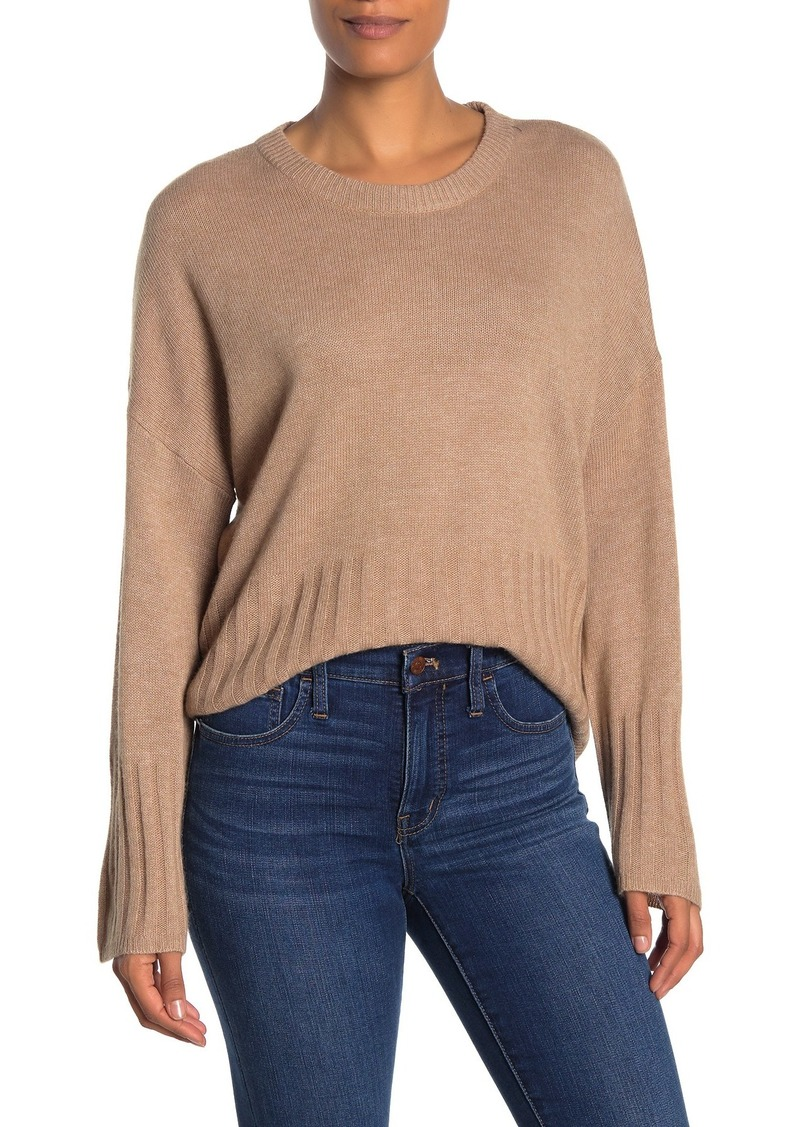 Madewell Solid Dolman Sleeve Pullover Sweater