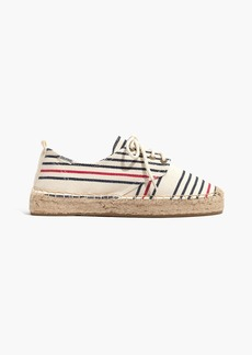 Soludos® Oxford Lace-Up Platform Slipper in Stripe