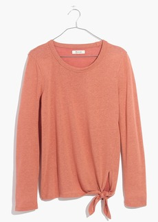 Madewell Soundcheck Side-Tie Tee