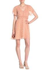 Madewell Star Shower Ruched Waist Minidress