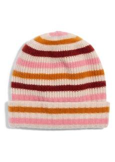 Madewell Stripe Cashmere Beanie