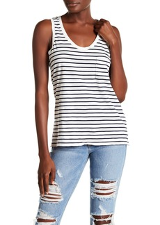 Madewell Stripe Scoop Neck Tank Top