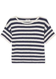 Madewell Striped Cotton-blend T-shirt