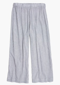 Madewell Striped Cover-Up Culottes
