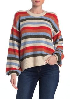 Madewell Payton Coziest Yarn Striped Pullover