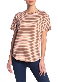 Madewell Striped Short Sleeve Crew Neck T-Shirt