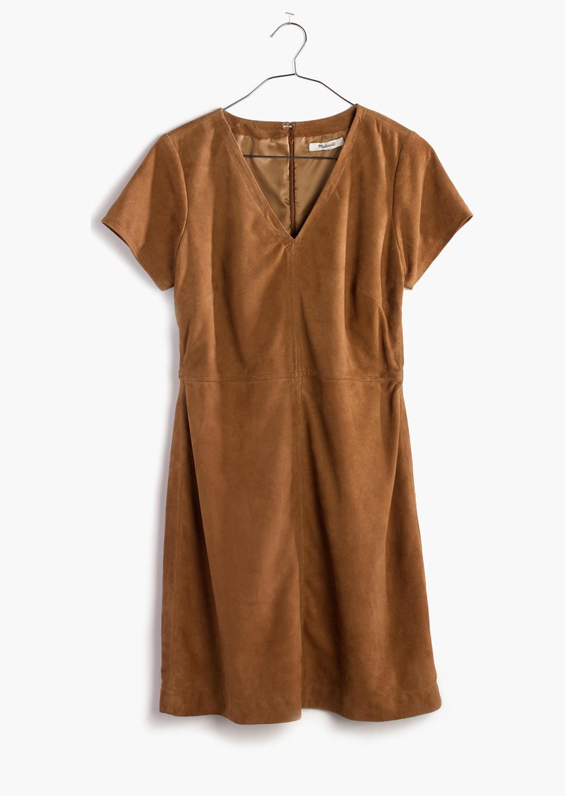 Madewell Suede Shift Dress