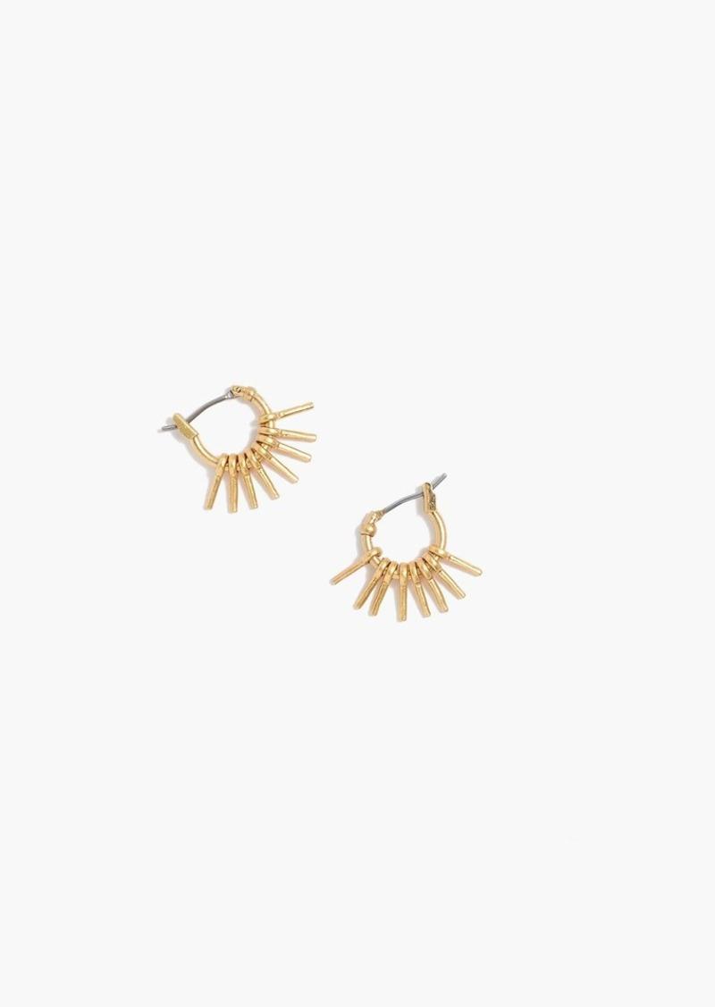 Madewell sunflare hoop earrings