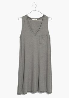 Madewell Swingy Tank Dress in Stripe