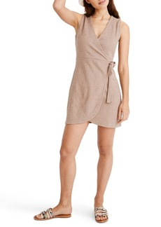 Madewell Texture & Thread Side Tie Mini Dress