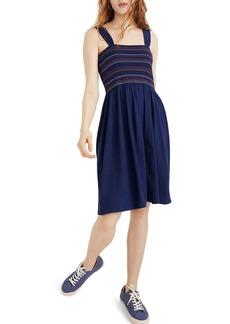 Madewell Texture & Thread Smocked Dress