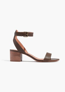 Madewell The Alice Sandal in Python Texture