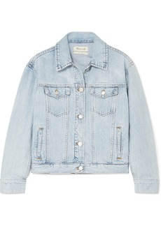 Madewell The Boxy Crop Denim Jacket