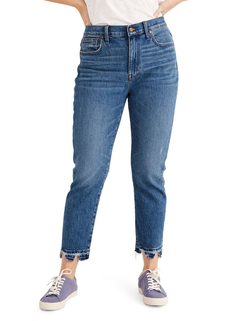 Madewell The High-Rise Slim Boyfriend Jeans