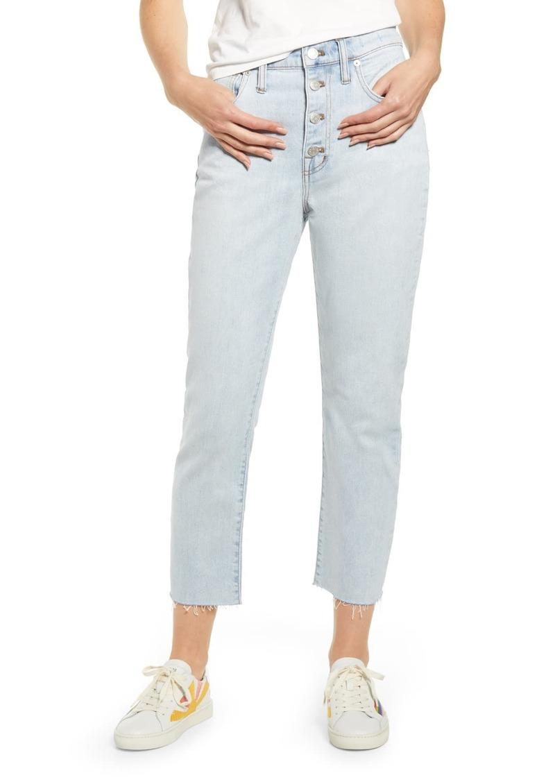 Madewell The High-Rise Slim Crop Boyfriend Jeans