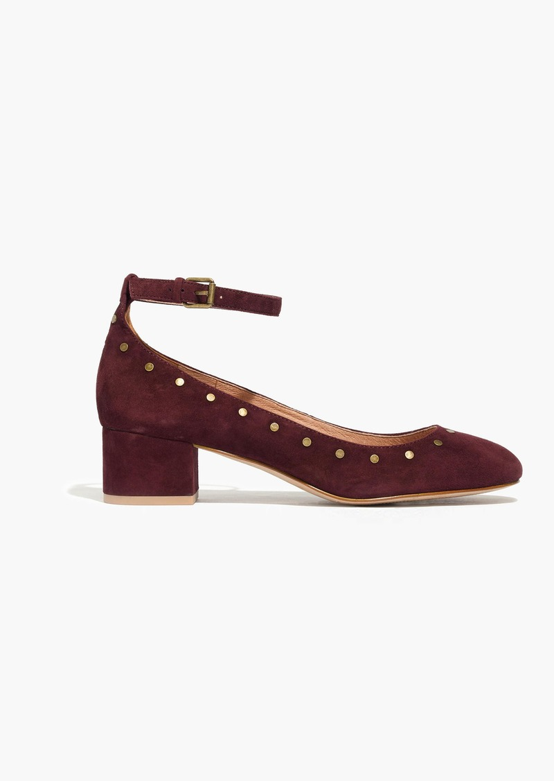 Madewell The Inez Stud Ankle-Strap Shoe