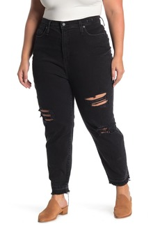 Madewell The Knee Rip Mom Jeans (Plus Size)