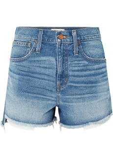 Madewell The Perfect denim shorts